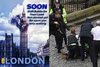 ISIS se přihlásil k teroru v Londýně: Džihádisté útok oslavují a vyhrožují válkou