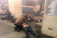 Útok v Petrohradu má další oběť: Zraněná žena život nevybojovala