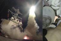 Trump kvůli chemickému útoku zasypal Sýrii raketami: Ukončeme masakr, burcuje