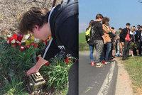 Míra (†18) se zabil na motorce: Kamarádi ho uctili spanilou jízdou