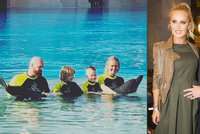 Simona Krainová si užívá luxusu Dubaje: Synům dopřála životní zážitek
