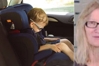 Babička nechala dítě v rozžhaveném autě: Chlapec (†2) umíral při šedesáti stupních