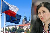 """Jourová vzala do Prahy pět scénářů o EU. """"Diktát z Bruselu,"""" vzplály vášně"""