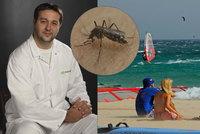 Slivovice na dovolené nestačí, ví lékař. Hrozí vám komáři, žloutenka i průjem