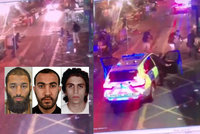 Rozstřílení ve spršce kulek: Video zachytilo smrt teroristů z Londýna