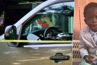 Chlapec (†1) si při hře vlezl do tátova auta: Ve vedrech zahynul