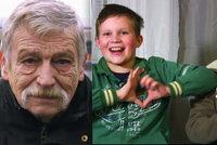 Děda z reality show s Pergnerovou položil život za vnuky: Na sebe nemám čas, pro kluky cokoliv, říkal