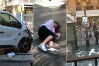 Teror v Barceloně ONLINE: Dodávka najela do lidí, 13 mrtvých a 80 zraněných