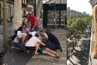 Soňa a Petr teroru v Barceloně unikli o vlásek: Zachránila nás sklenička vína