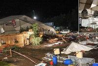 Tragédie na festivalu: V troskách stanu zemřeli dva lidé