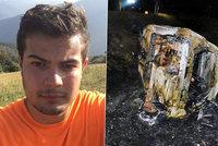 Filip (†18) na svůj svátek uhořel zaživa: Erika promluvila o děsivé nehodě
