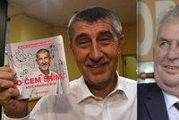 Zemanovy jízdy po krajích jsou kampaň, říká dozorový úřad. Řeší i Babišovu knihu