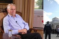 """""""Zeman o nás šíří nebezpečné nepravdy."""" Lídr muslimů z Bosny se čertí kvůli spojení s ISIS"""