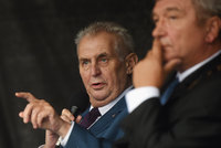 Vydání Babiše neznamená odsouzení, řekl Zeman a kritizoval poslance za exhibici