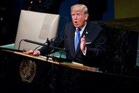 Vymažu vás z mapy, slíbil Trump KLDR. V OSN se pustil i do islámu