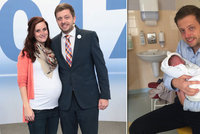 Strach z porodu v přímém přenosu: Manželka politika porodila krátce po debatě v Blesku