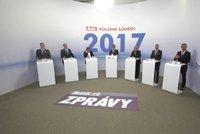 Hádka o euro, řecký dluh i Klause: Politici se v debatě cupovali, kdo byl za žvanila?