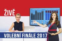 Volební finále vysíláme živě: Výsledky, komentáře, zákulisí volebních štábů