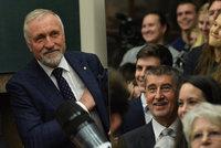 Topolánek řečnil, Babiš se smál v publiku. Sedm kandidátů bez Zemana odhalilo majetky