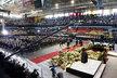 Na trenčínský zimní stadion se s Pavlem Demitrou přišly rozloučit tisíce fanoušků