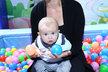 Jana Bernášková s sebou vzala tříměsíčního syna Theodora.