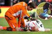 Slovenský stoper Liverpoolu Martin Škrtel utržil v zápase s Bournemouthem krvavou ránu