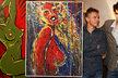 Barvy sice nerozpozná, ale ženské intimní partie umí syn Janka Ledeckého (52) kreslit i poslepu! Jonáš Ledecký (21) je nejen muzikant po tátovi, ale taky malíř!