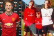 Bastian Schweinsteiger Manchester United miloval odjakživa, jak dokazuje i jeho fotka s bratrem Tobiasem...