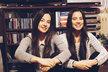 Dvojčata Lucie a Bára Černé. Obě se věnují herectví, ale nestudují ho.