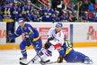 Petr Vampola uniká švédským soupeřům