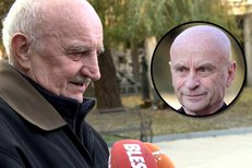 Josef Somr si na pohřbu Bořivoje navrátila posteskl, že mu stále více kamarádů umírá.