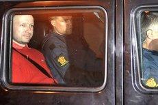 Breivikův telefonát na policii