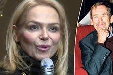 Dagmar vysvětluje proč nedorazil její manžel Václav Havel