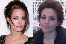 Angelina Jolie má svou dvojnici! Je to španělská studentka
