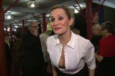 Monika Absolonová šokovala rozepnutou halenkou