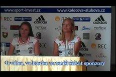 Kolocová se Slukovou na tiskové konferenci