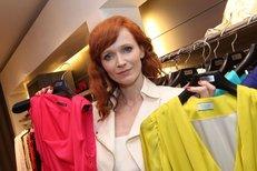 Aňa Geislerová se svou módní kolekcí