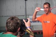 Jak se fotil Lukáš Rosol pro Sport Magazín? Podívejte se...