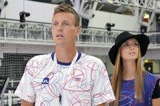 Tomáš Berdych exkluzivně z Londýna: Dohlídne na něj jeho Ester