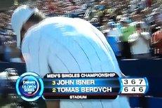 Tomáš Berdych po prohře rozmlátil raketu