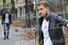 Marek Dalík šel vyvenčit psa Huga