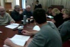 První čtená zkouška Královy řeči v Brně