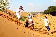Vendula vyrazila na poušť