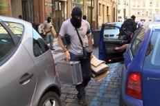 Takto zasahovala policie u Ivo Rittiga