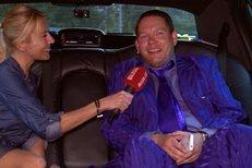 Matěj Ruppert v limuzíně: Nepiju, jsem pod dozorem!