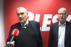 Duel Schwarzenberga a Sobotky v Blesku: Jak vidí své šance ve volbách?