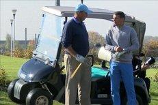 Ivan Lendl si zahrál svůj oblíbený golf i s Liborem Sionkem