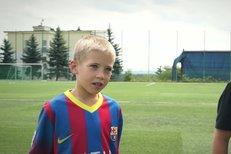 Karel Piták vede oba své syny k fotbalu