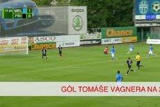 Mladá Boleslav - Příbram: Gól Tomáše Wágnera na 2:0