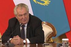 Zeman v Kazachstáně